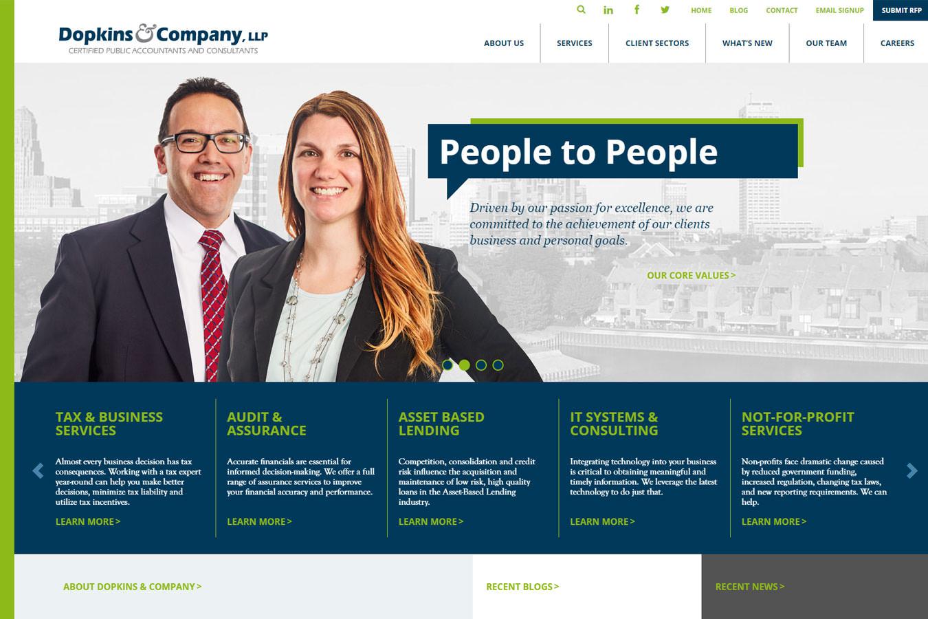 Dopkins homepage