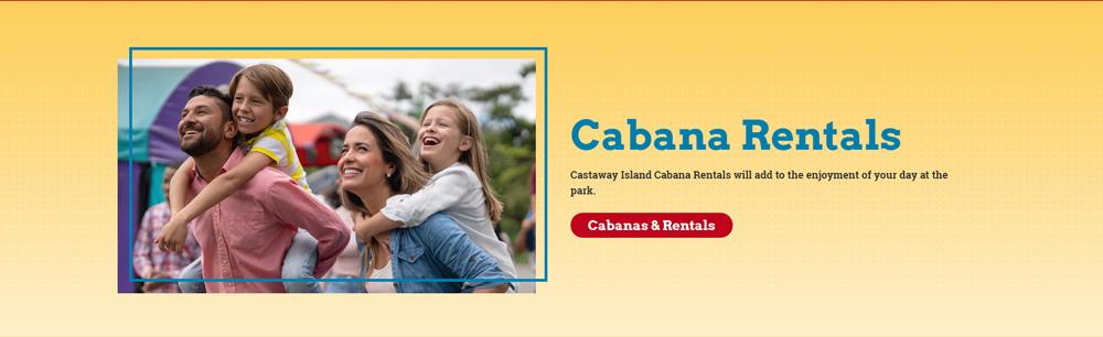 Panel Cabana Rental