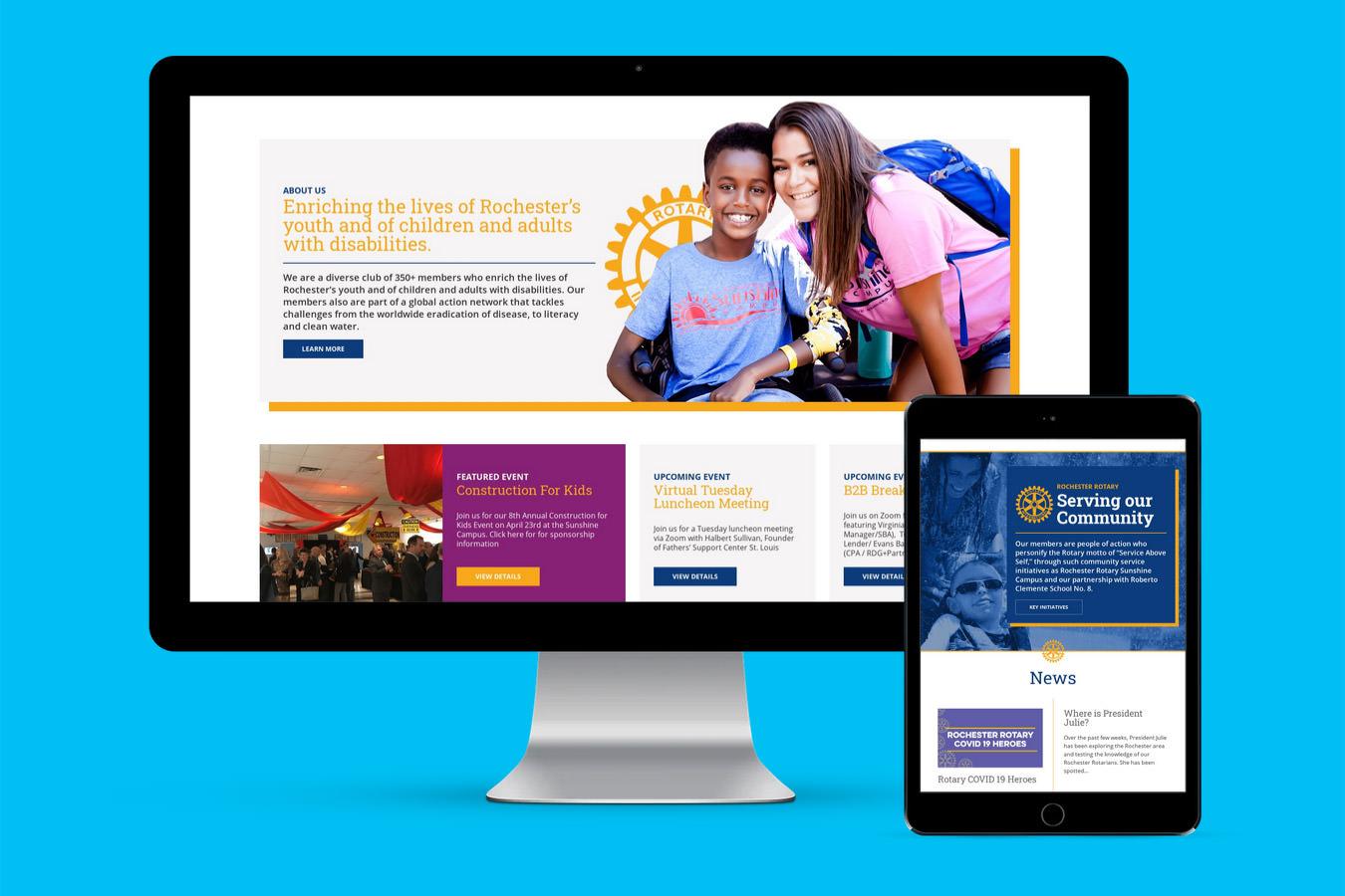 Rochester Rotary Website