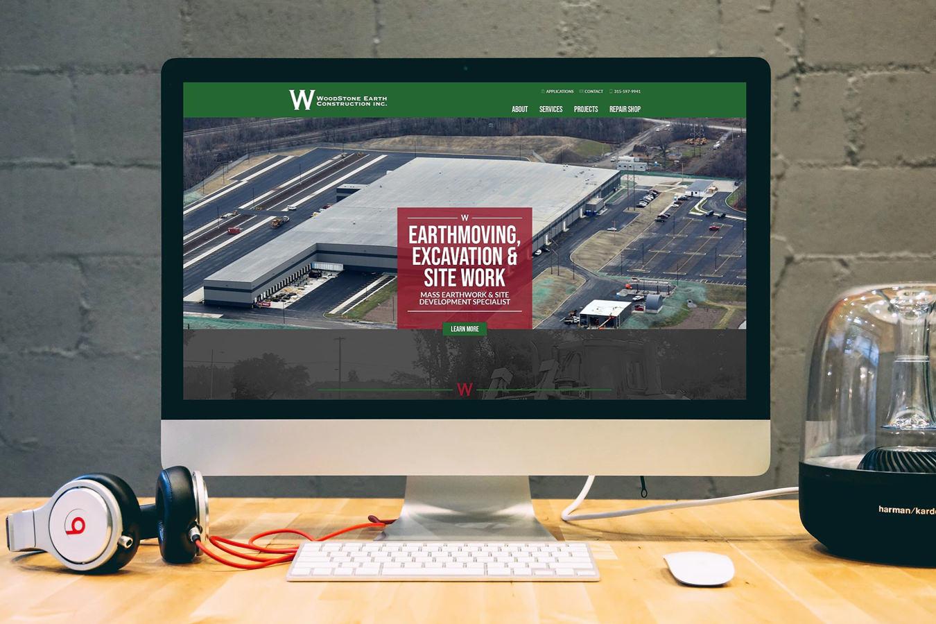 WoodStone Earth Construction Website