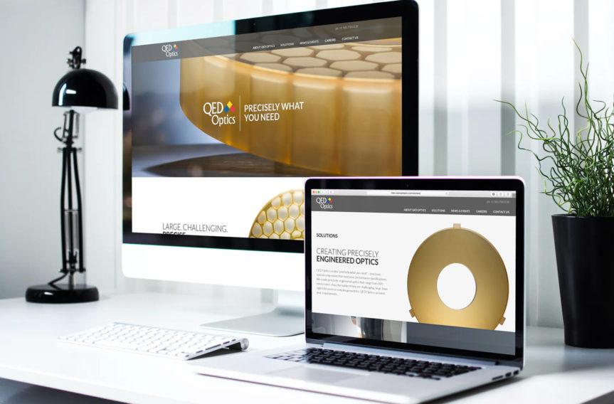 QED Optics Website