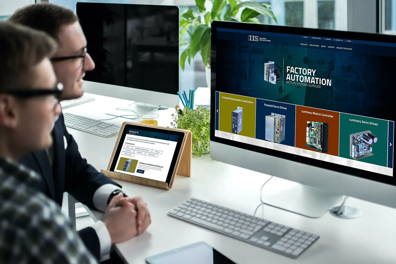 Industrial Indexing website